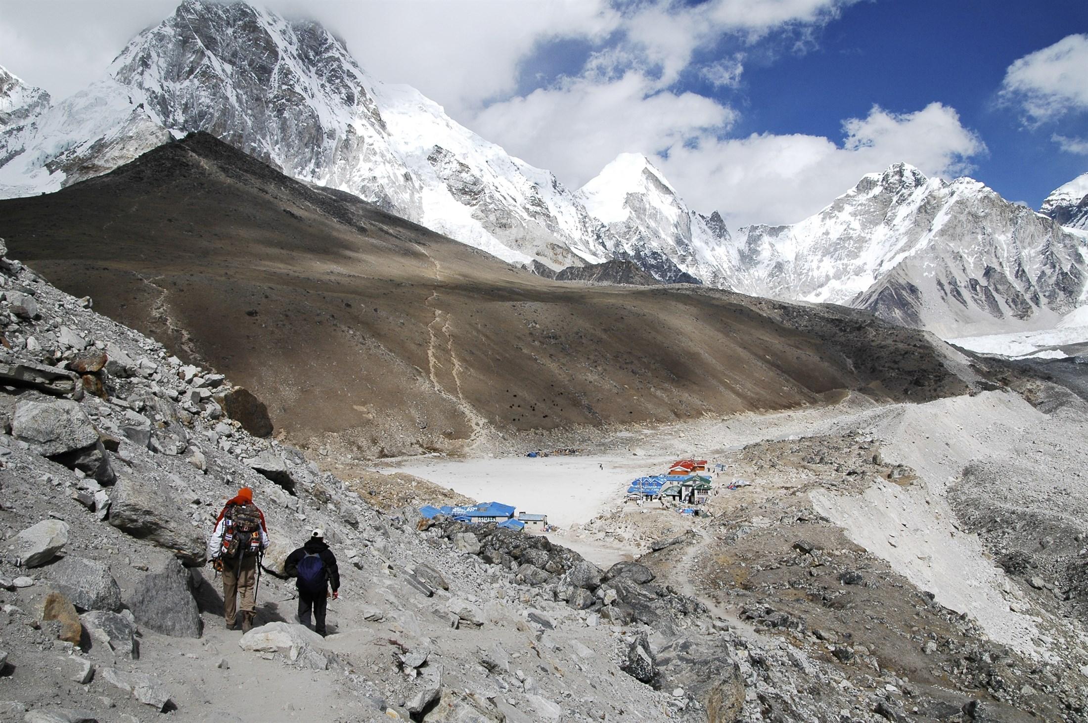 Sagarmatha National park, Nepal. Photo: Wenzel Prokosch