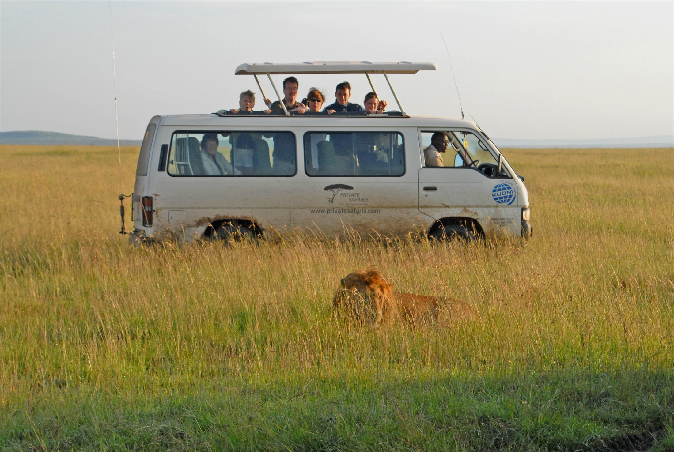 Masai Mara Reserve. Photo: Peter Prokosch