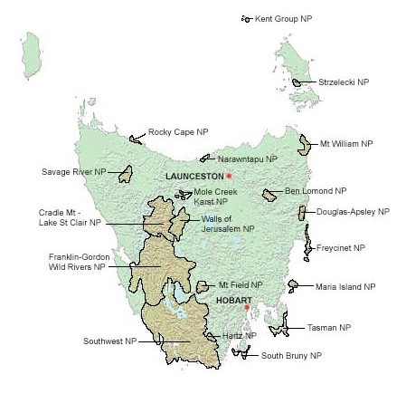National Parks in Tasmania