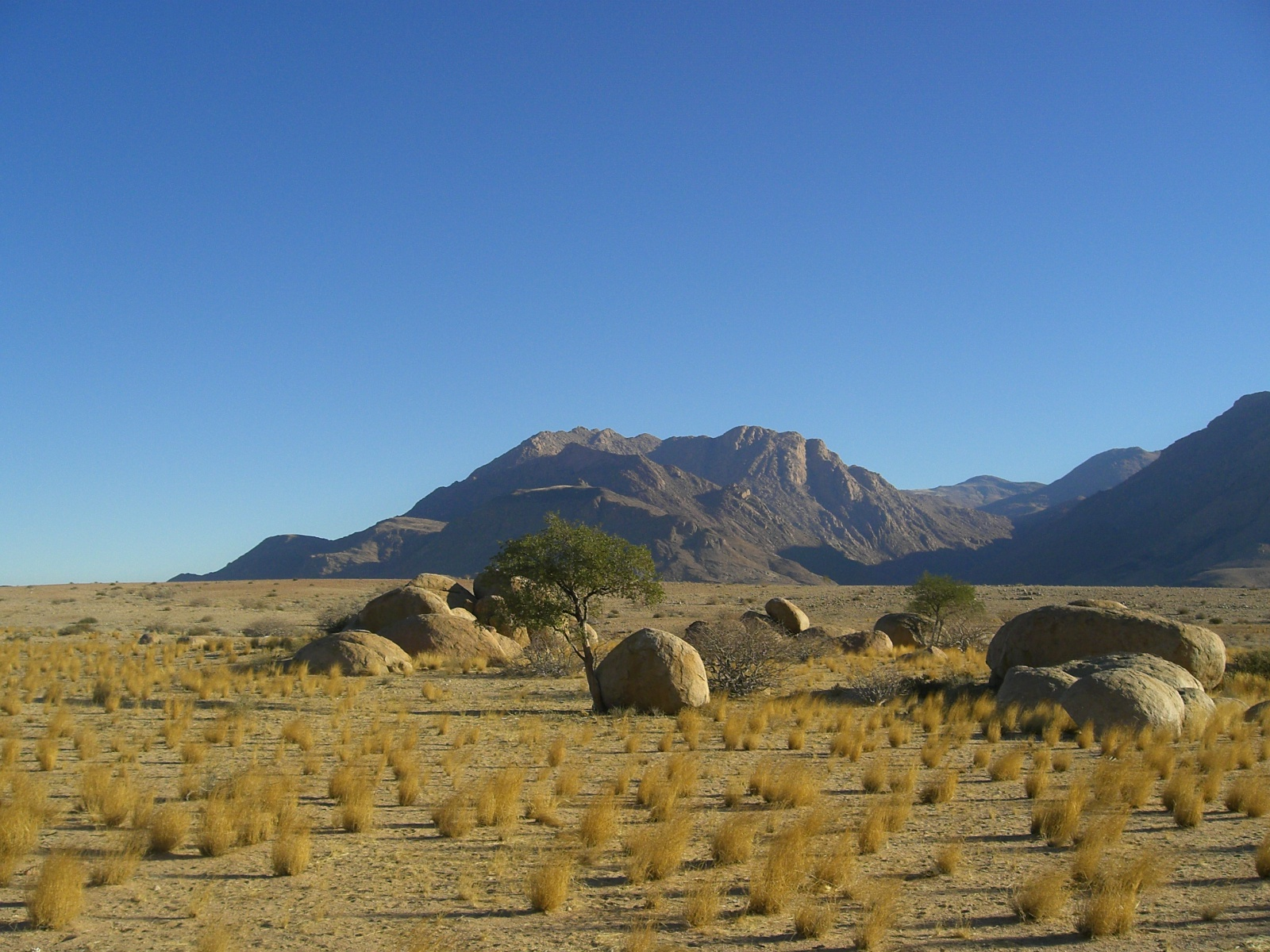 The 'Brandberg' - Namibia's highest mountain