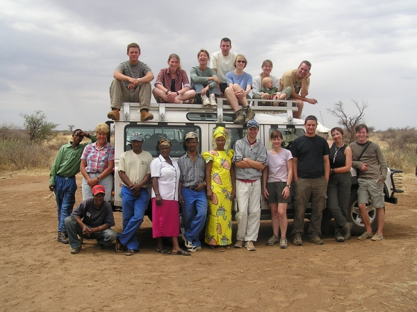 Some of the NGOs in Namibia work with volunteers from all over the world. For them it is very impressive to work together with local staff. Photo: Harald Förster