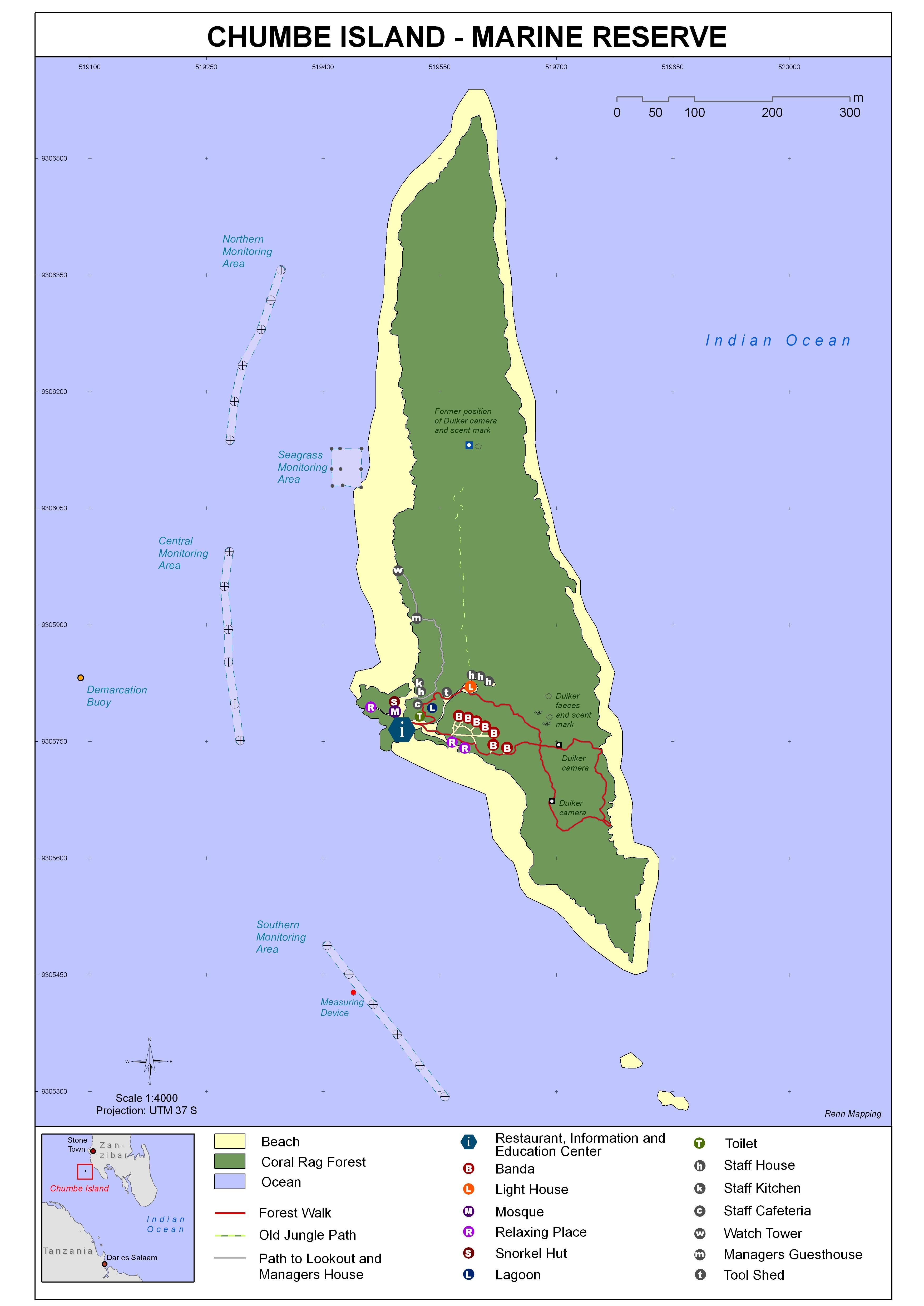 2_Chumbe map