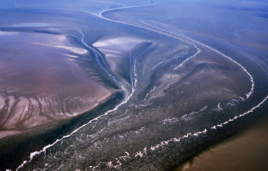 Todal mudflats and creeks, Lower Saxony Wadden Sea National Park, Germany
