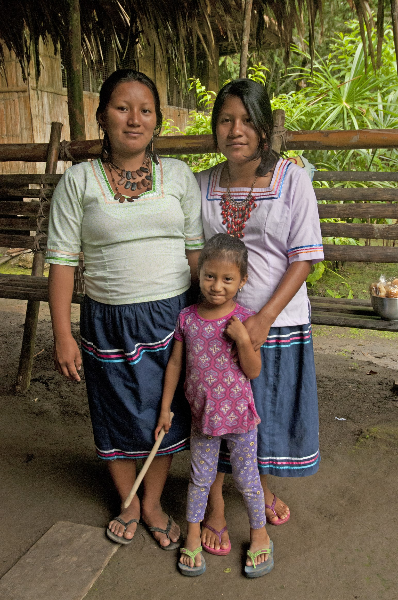 Kichua People of the Añangu community