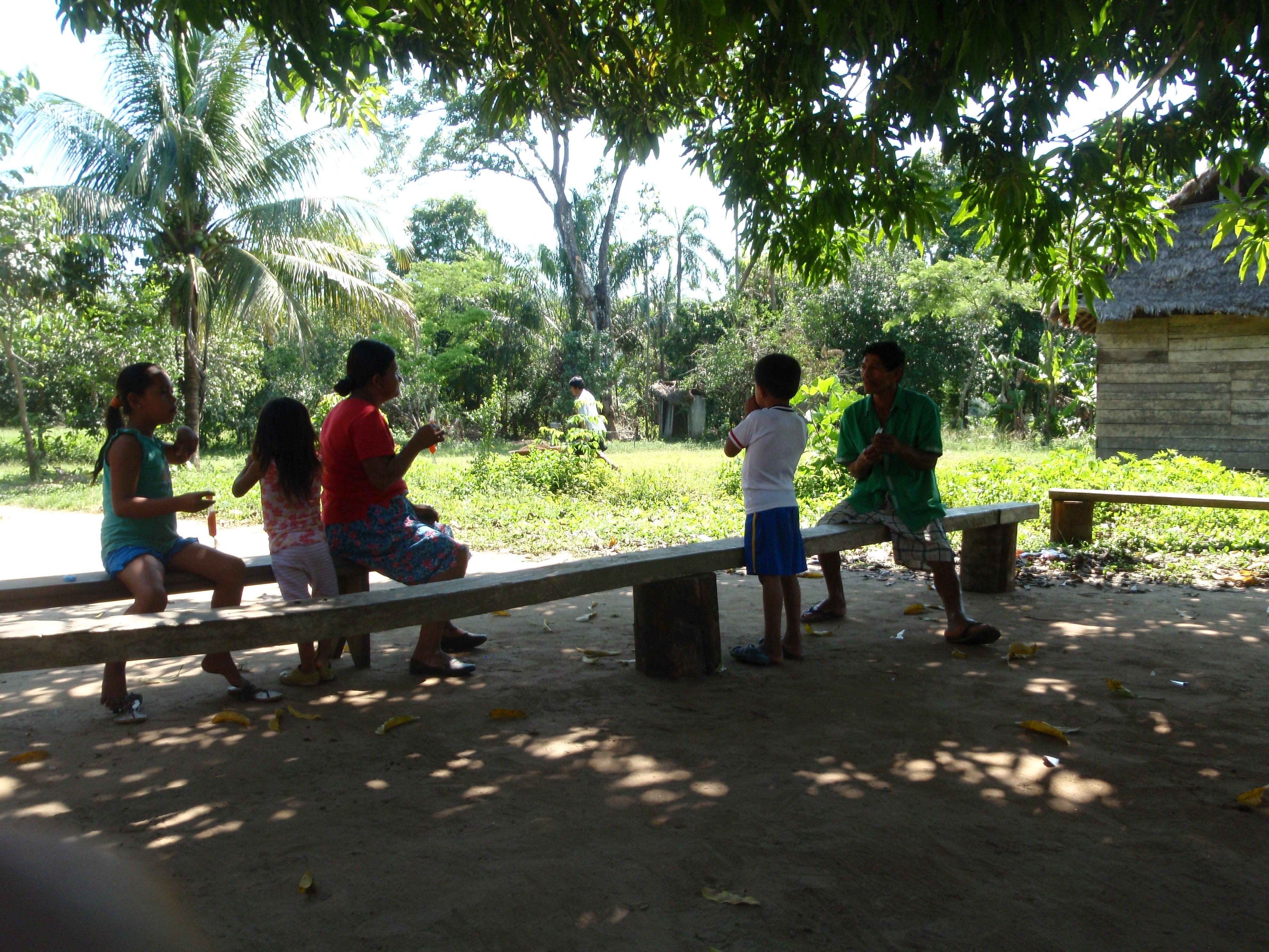 Locals at Madidi National Park