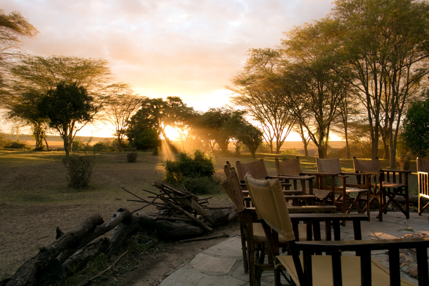 Sunrise at Basecamp Masai Mara