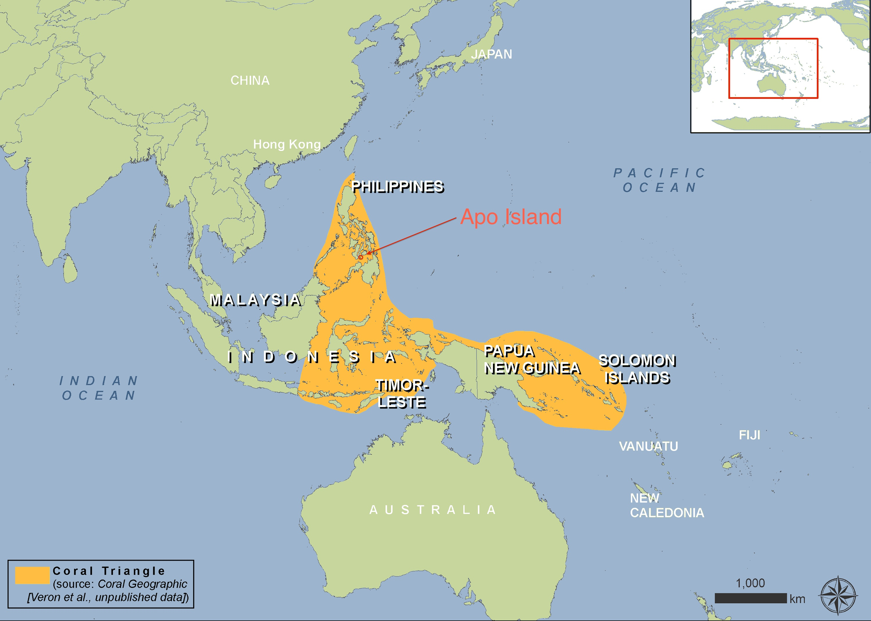 Apo island marine reserve philippines linking tourism conservation map wwf gumiabroncs Images