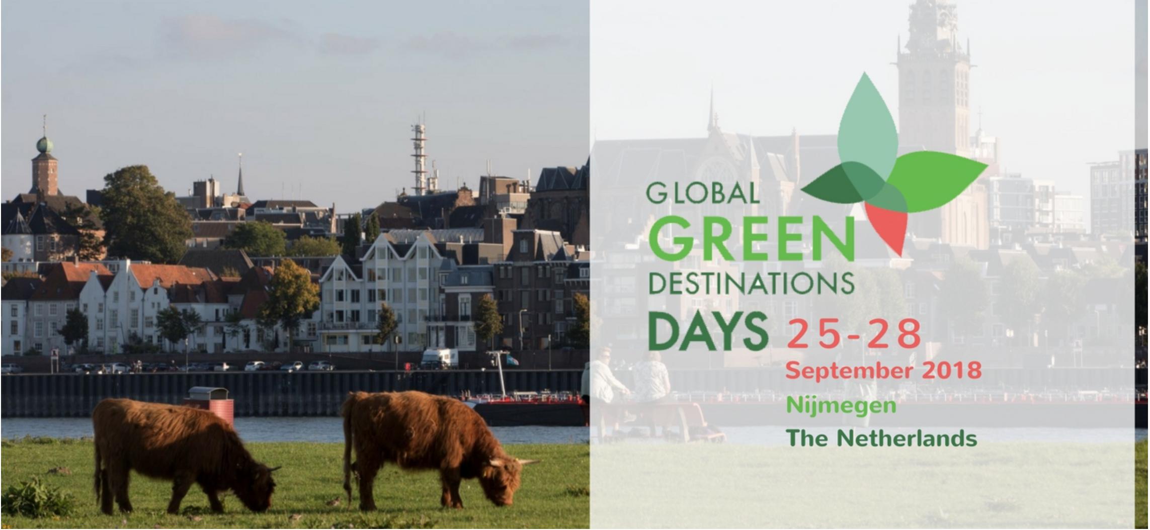 Global Green Destinations Days, Nijmegen, The Netherlands @ Nijmegen | Nijmegen | Gelderland | Netherlands