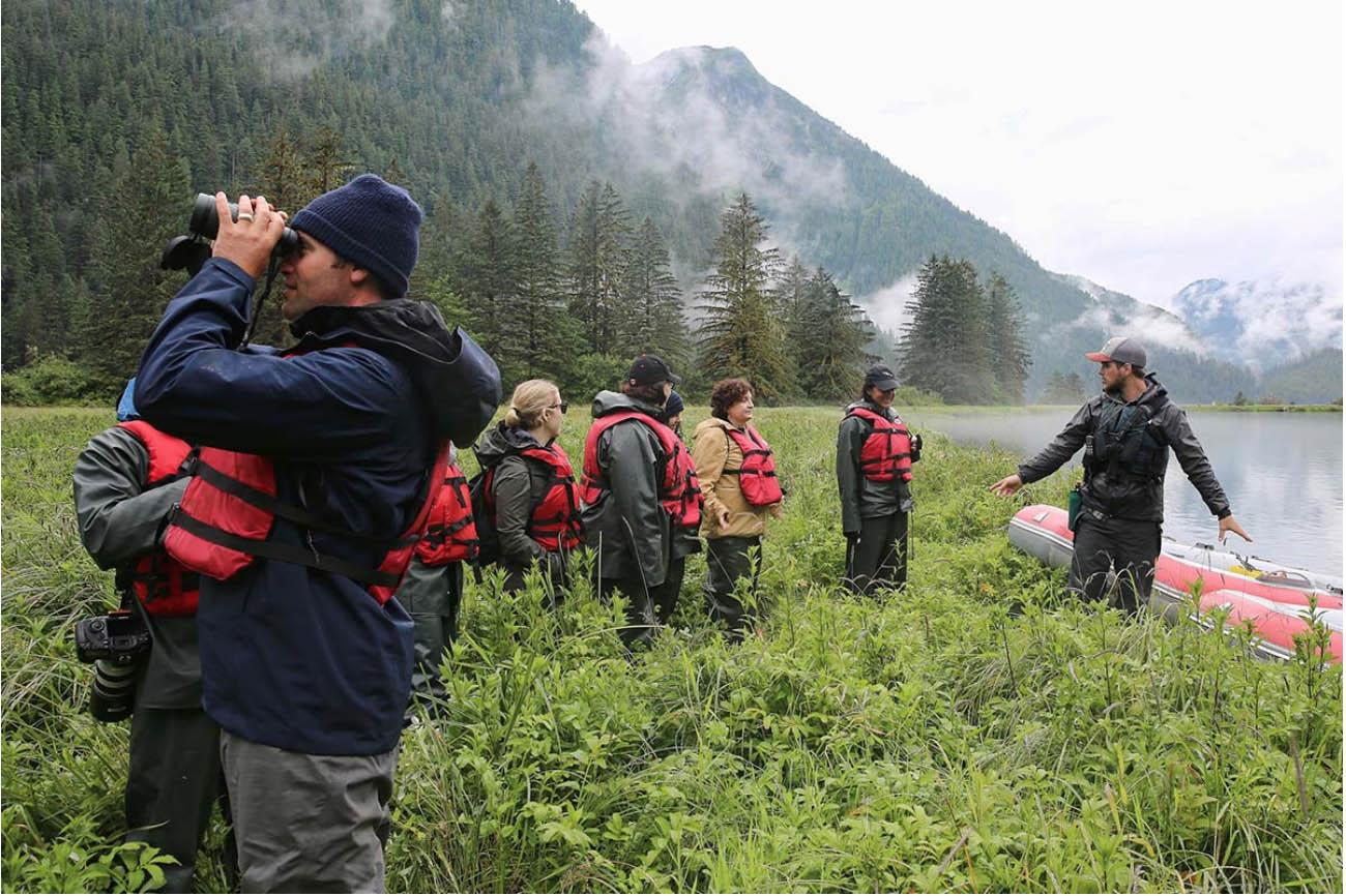 Tour in Great Bear Rainforest
