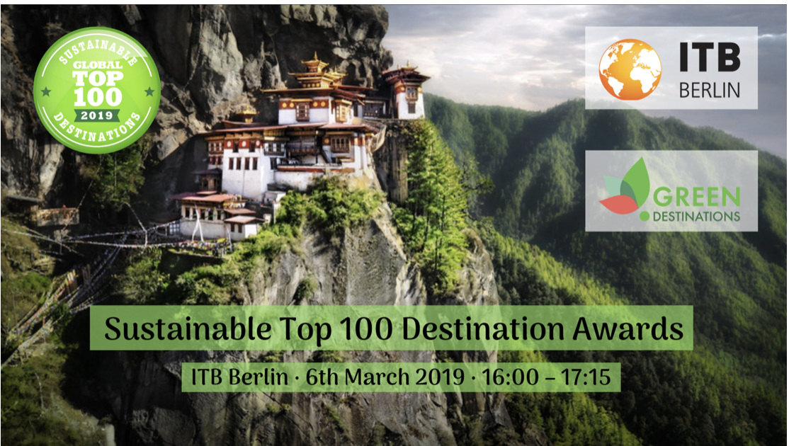 2019 Sustainable Top 100 Green Destinations Awards, ITB Berlin @ ITB Berlin,
