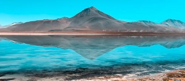 Eduardo Avaroa National Park in the South of Bolivia.