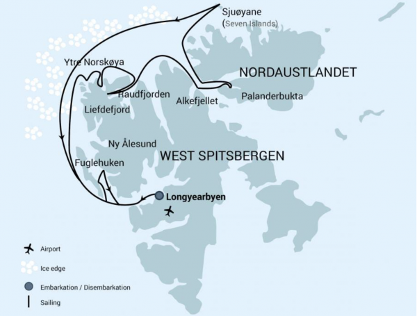LT&C-Study tour and expedition cruise to North Spitsbergen @ Spitsbergen, Svalbard
