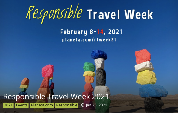 Responsible Travel Week - Livestreaming: Introducing LT&C @ online unconference by Zoom