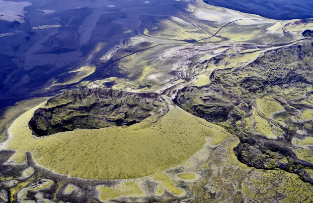 Icelandic Highlands, volcano. Photo: Snorri Baldursson
