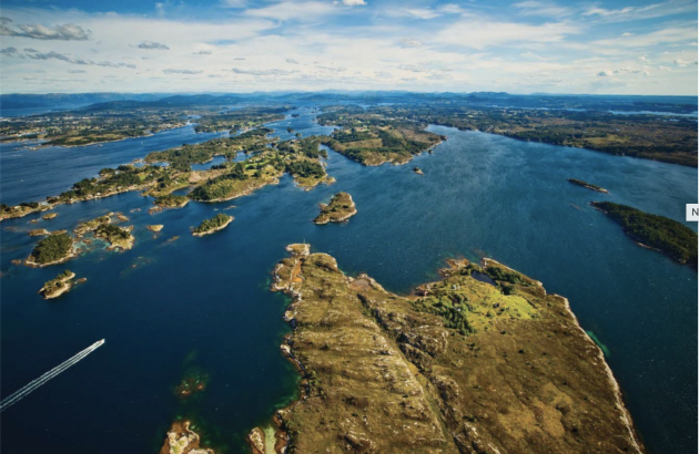 A MODEL AREA: The Nordhordland biosphere reserve covers everything from the ocean to the top of the mountains and encompasses a unique study area. Photo: Nordhordland Biosfæreområde